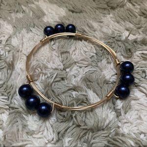 Jewelry - 💙 Blue Gold Sphere Bracelet